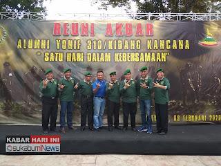 Alumni Yonif 310 Kidang Kencana