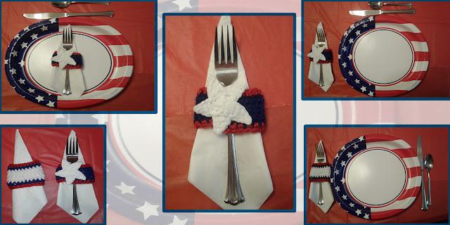 patriotic napkin rings for memorial day