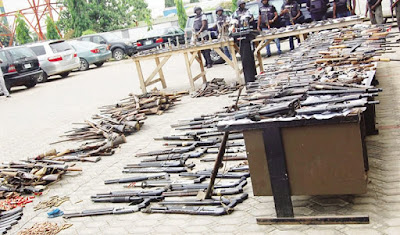 How Nigeria Police Recover Over 2,700 Deadly Weapons