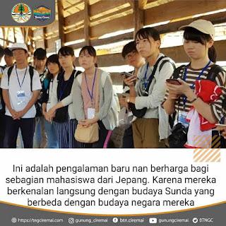 Kunjungan Mahasiswa The University of Shiga Prefecture dan IPB Univesity ke Balai Taman Nasional Gunung Ciremai (TNGC)