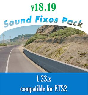 ets 2 sound fixes pack v18.19 screenshot 1