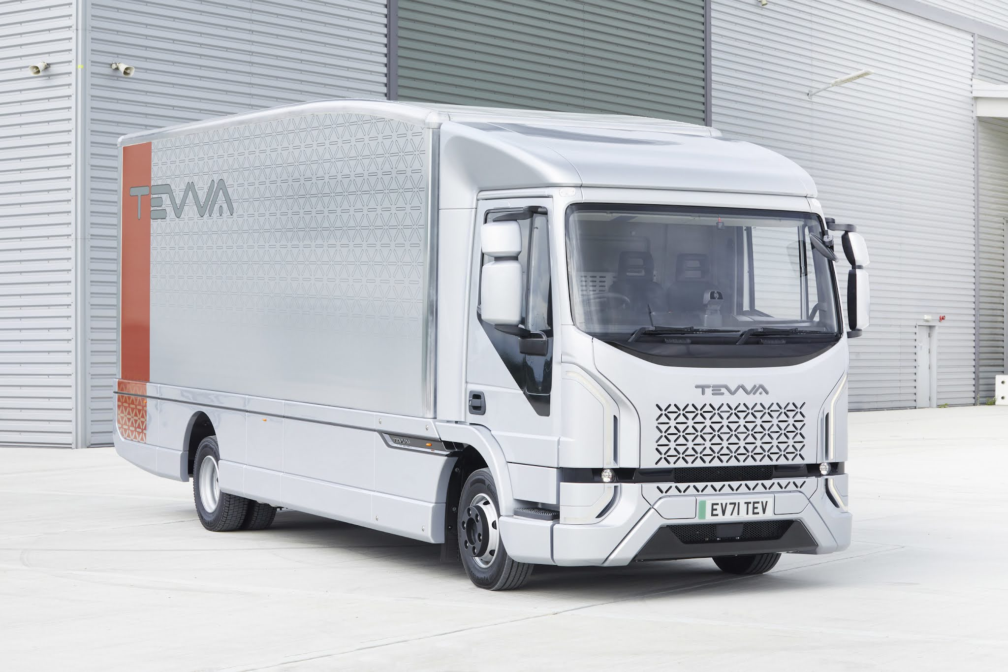 Tevva unveils bold electric truck designed for the real world