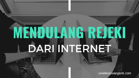 mencari uang dari internet