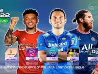 PES 2022 PPSSPP English Version Peter Drury Liga 1 Indonesia & Liga Eropa Update Transfers 2021/22