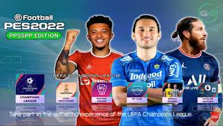 Download PES 2022 PPSSPP English Version Peter Drury Liga 1 Indonesia & Liga Eropa Update Transfers 2021/22
