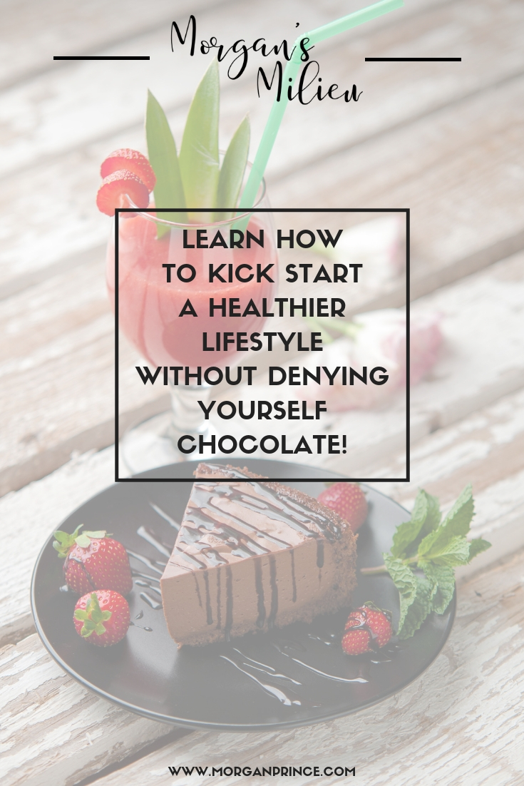 Want to go on a diet but don't want to cut out the chocolate - you can do BOTH! Here you can learn how to kick start a healthier lifestyle without denying yourself chocolate.