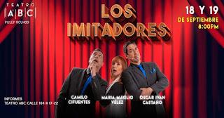 El show de LOS IMITADORES | Teatro ABC Bogotá