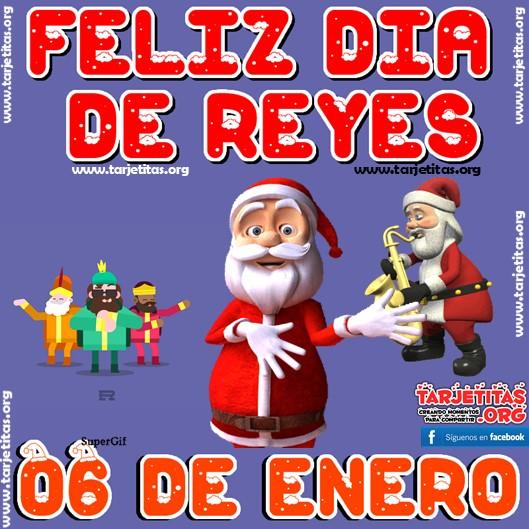 06 Día De Los Reyes Magos Feliz Día Para Todos Tarjetitas