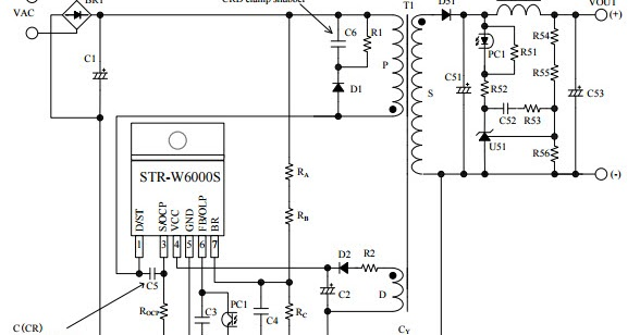 home power supply overvoltage protection circuit