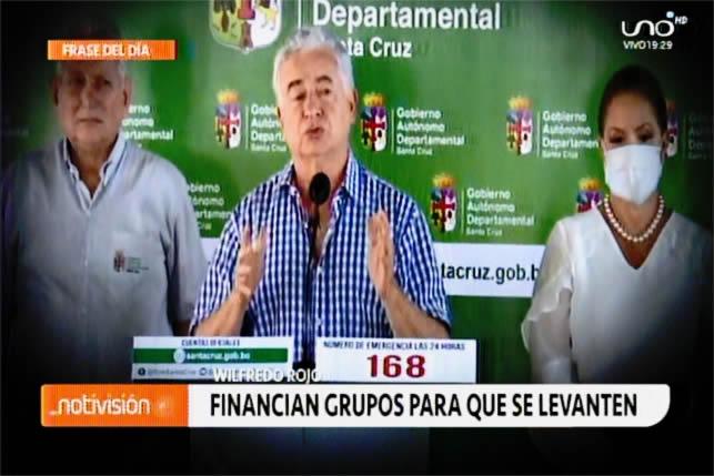 Ministro Rojo advierte que grupos afines al anterior Gobierno promueven la ruptura de la cuarentena