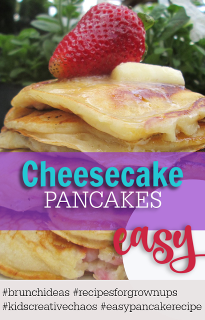 Easy Pancake Cheesecake Recipe Pinterest