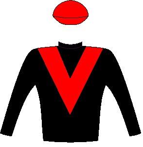 Coral Fever - Owner: Ms Sylvia Vrska & Mr Colin Bird - Colours: Black, red chevron, black sleeves, red cap