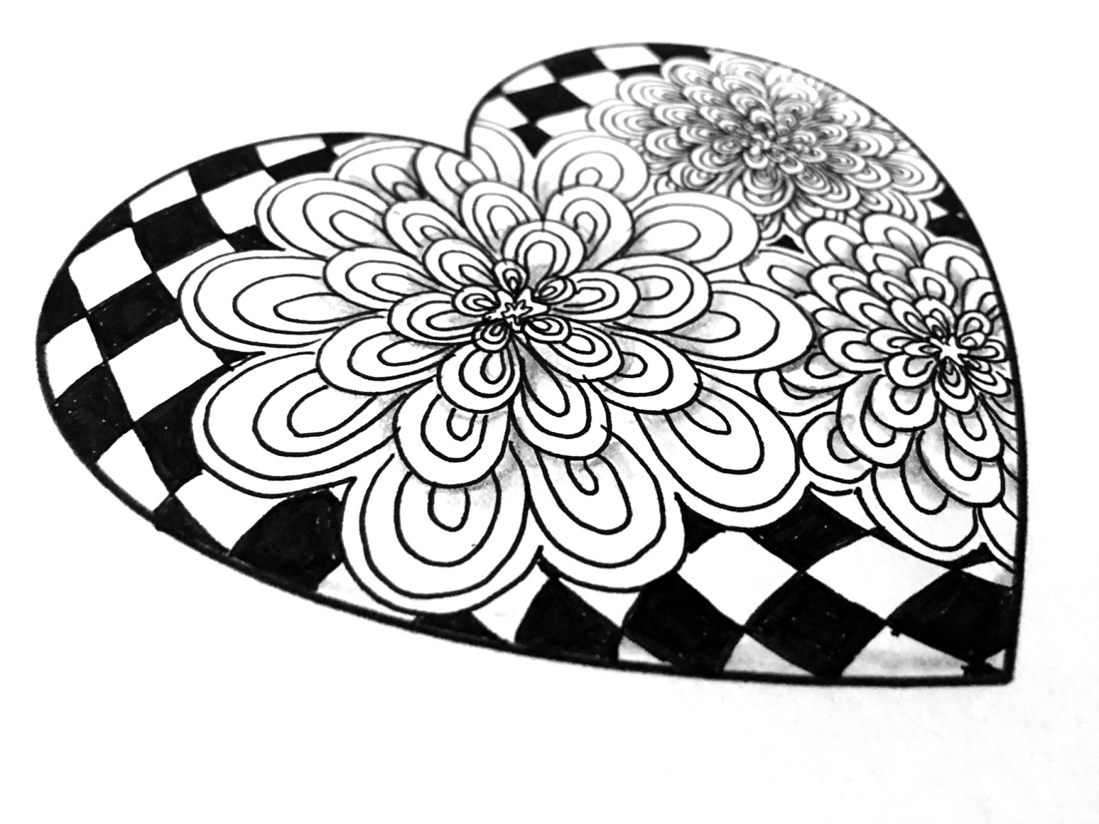 Templates to Print for Doodling, Drawing, and Tangling | Always ...