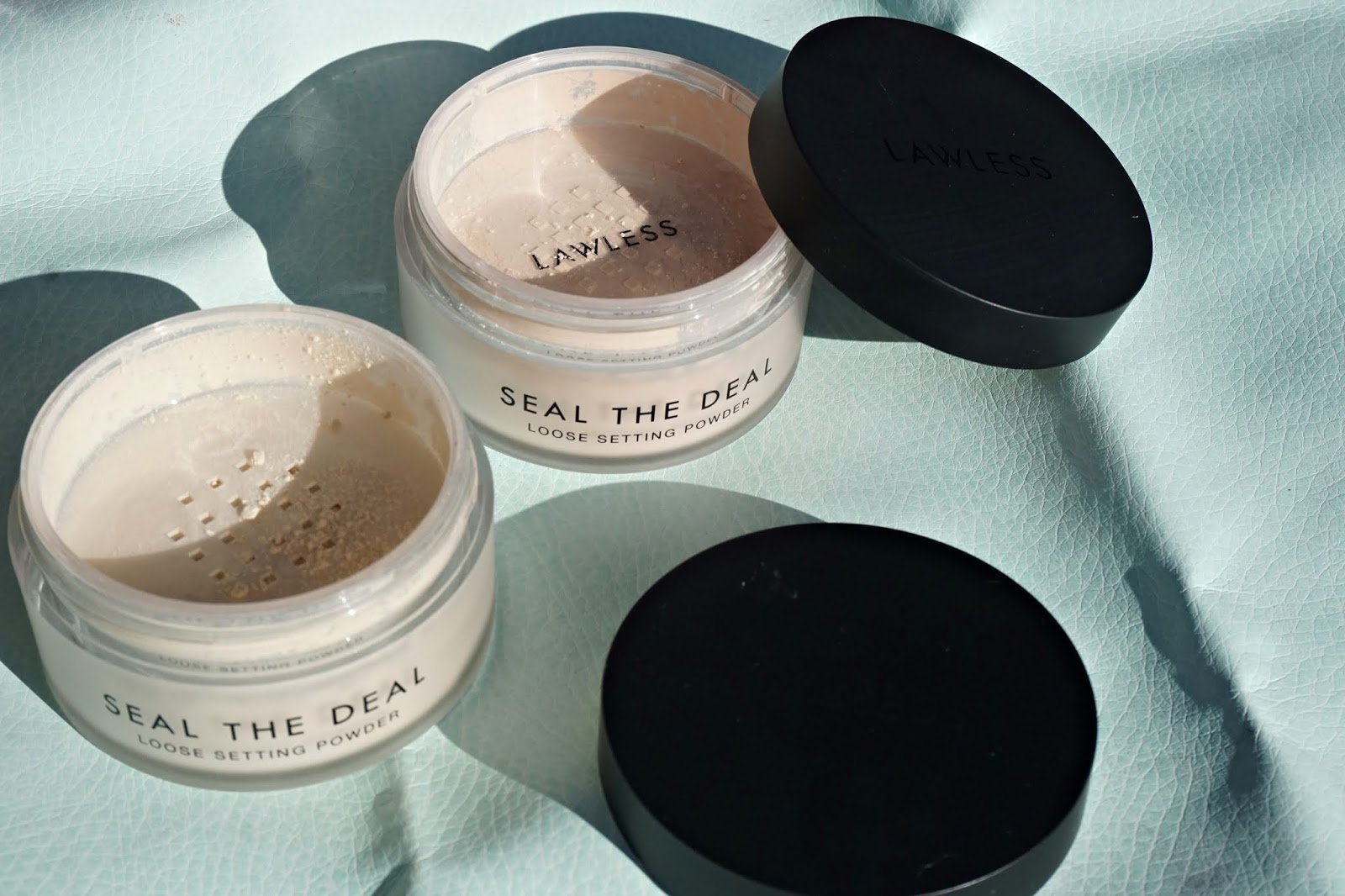 lawless seal the deal powder swatches