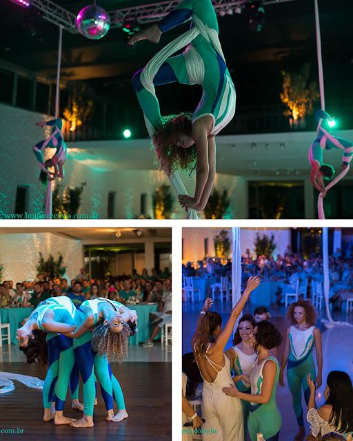Apresentação artística no Tecido Acrobatico para evento de lançamento de produto da marca Servier no Rio de Janeiro.