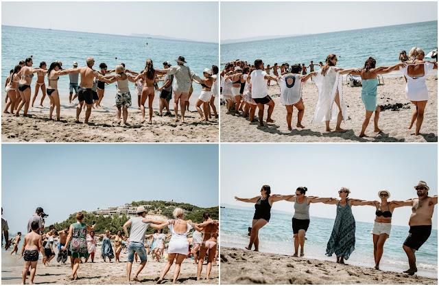 Θεσπρωτία: Στην παραλία Καραβοστάσι Πέρδικας χόρεψαν συρτάκι με πρωτοβουλία του Πολιτιστικού Συλλόγου
