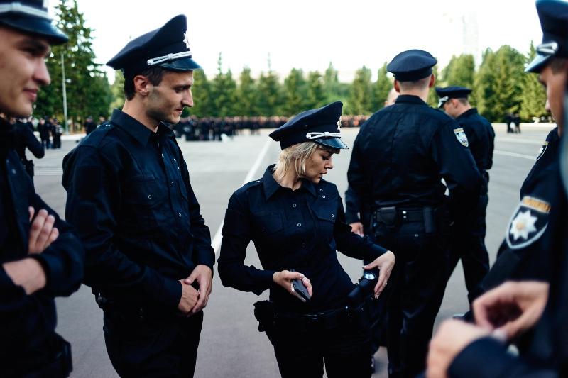 Новобранцы новой полиции