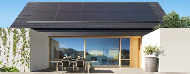 Tesla solar roofs: producing energy with a roof design