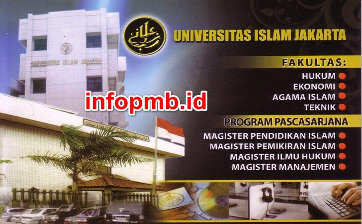 Jadwal Penerimaan Mahasiswa Baru (UID) Universitas Islam Jakarta
