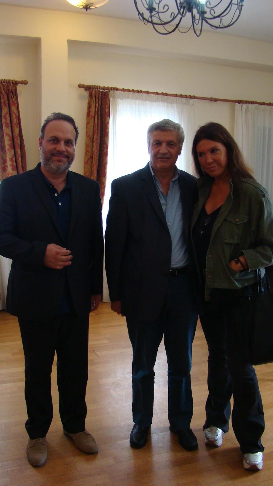 Στην Πρέβεζα βρέθηκε σήμερα η Ηπειρώτισσα ηθοποιός Βάνα Μπάρμπα