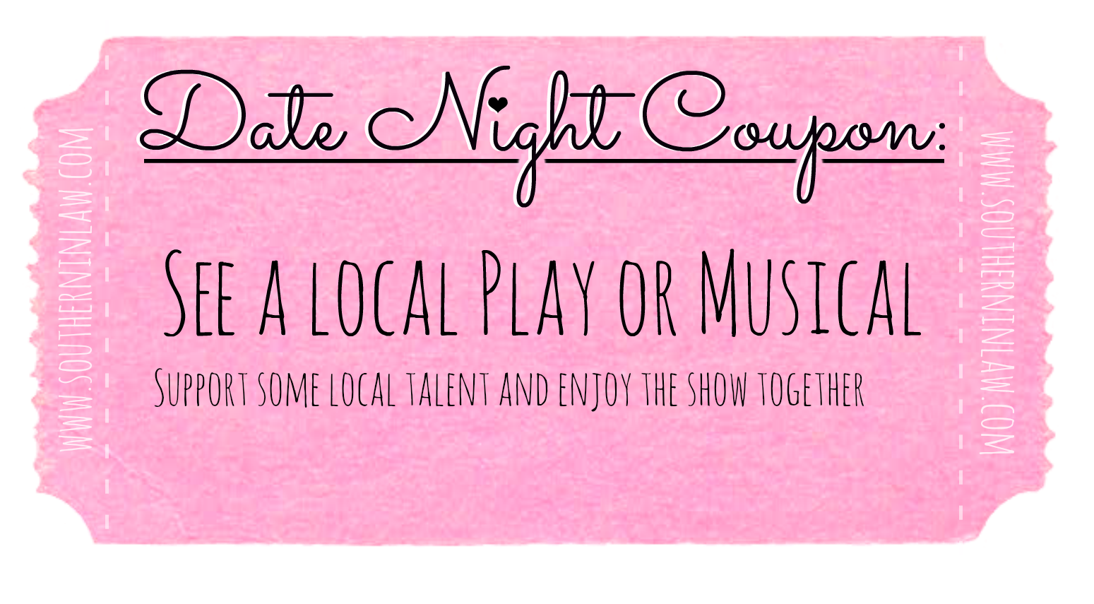 Affordable Date Ideas - Cheap Date Ideas Coupons - See a Local Play or Musical