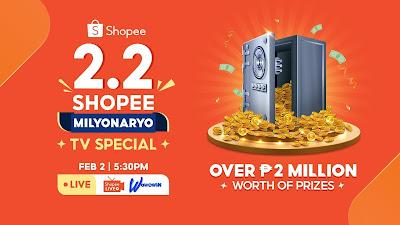 Shopee's 2.2 Shopee Milyonaryo