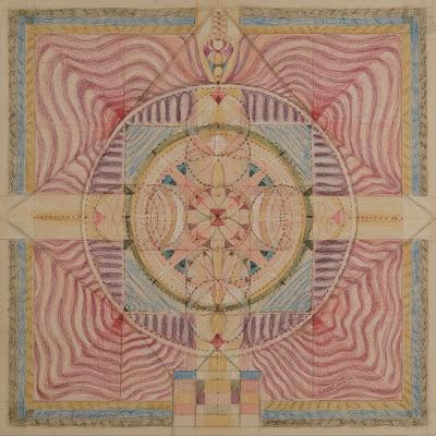 #Solange Knopf # Dessin#Méditation # n°2