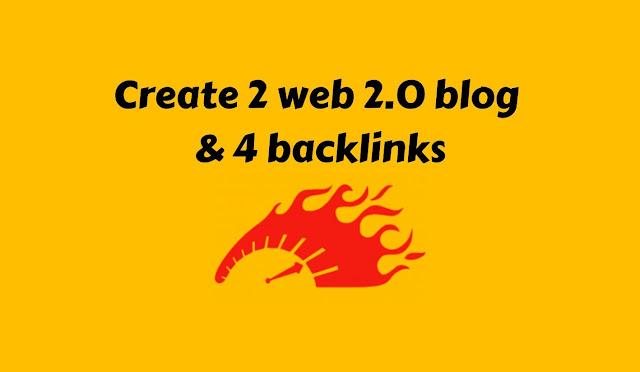 I will make 2 permanent web 2 0 blog