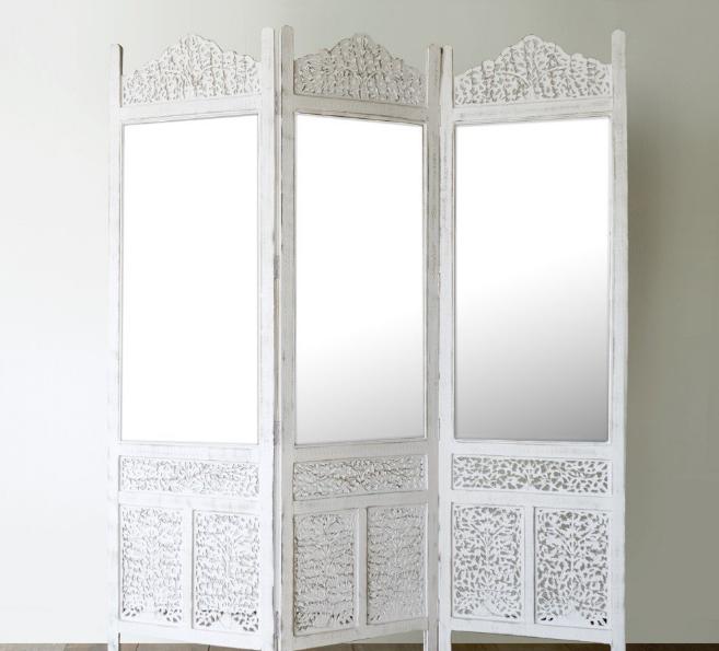 Pembatas ruangan dengan desain cermin, Ide desain pembatas ruangan