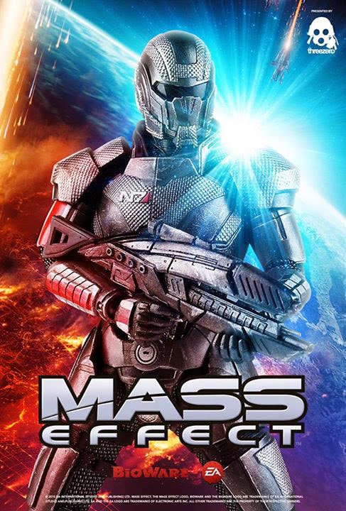 Teaser For 1 6 Commander Shepard From Mass Effect 3 By