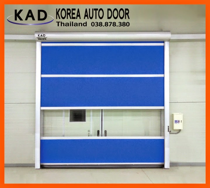 Describe the strength of high speed doors