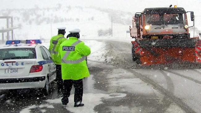 Kαταφθάνει κύμα πολικού ψύχους με πυκνές χιονοπτώσεις από τις αμέσως επόμενες ώρες! (video)