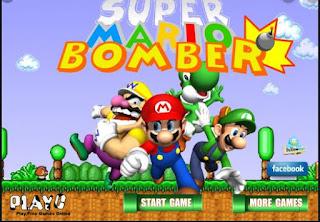 Game mario đặt bom hấp dẫn