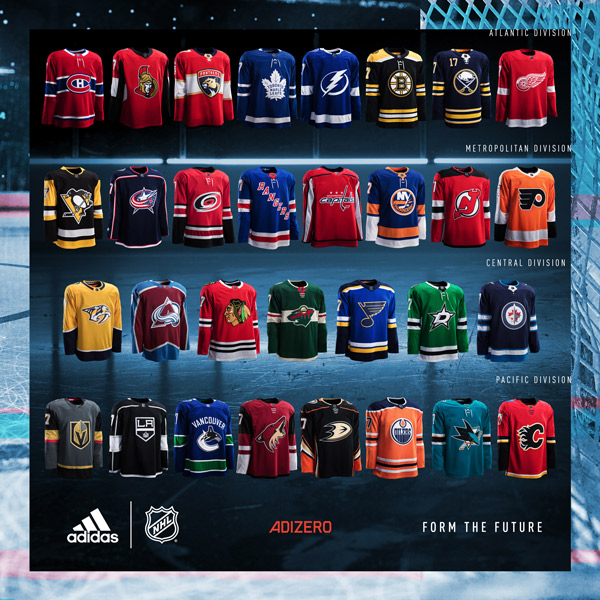 ... ADIZERO Authentic NHL jerseys to deliver advanced innovation and  technical design for the world s best hockey players 6692d3674