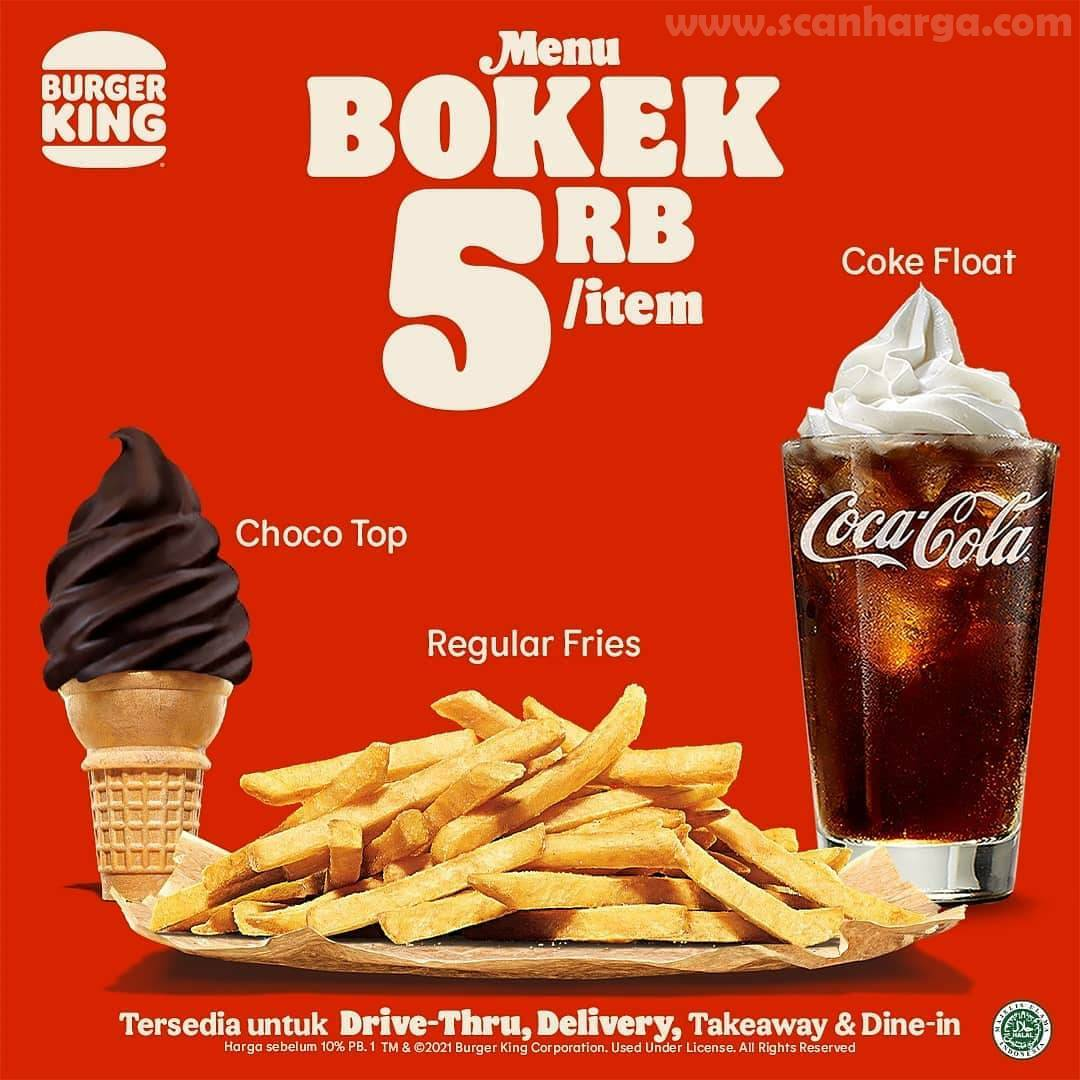 Promo BURGER KING BTS Paket BOKEK 1