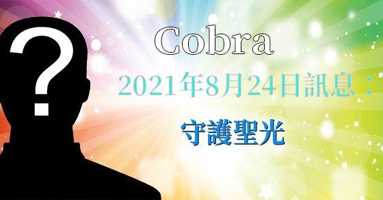 [揭密者][柯博拉Cobra] 2021年8月24日訊息:守護聖光