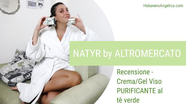 Natyr Altromercato crema viso recensione