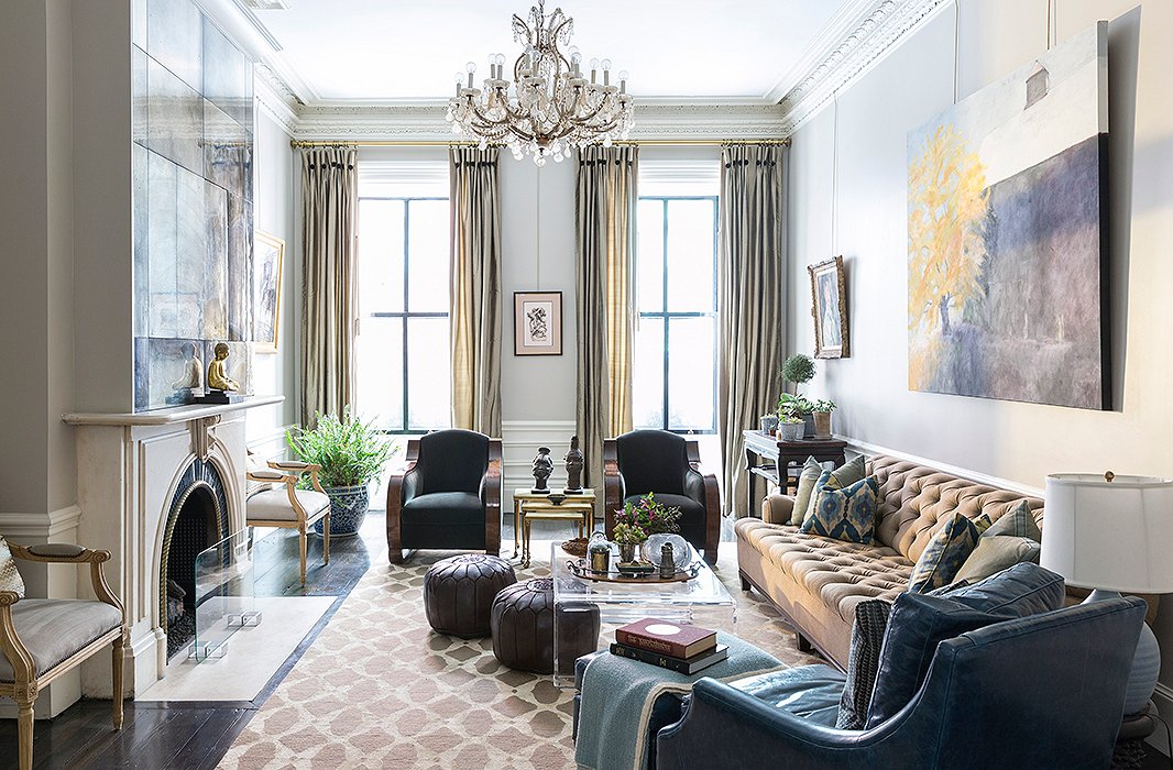 Décor Inspiration: A Sophisticated Beacon Hill Brownstone