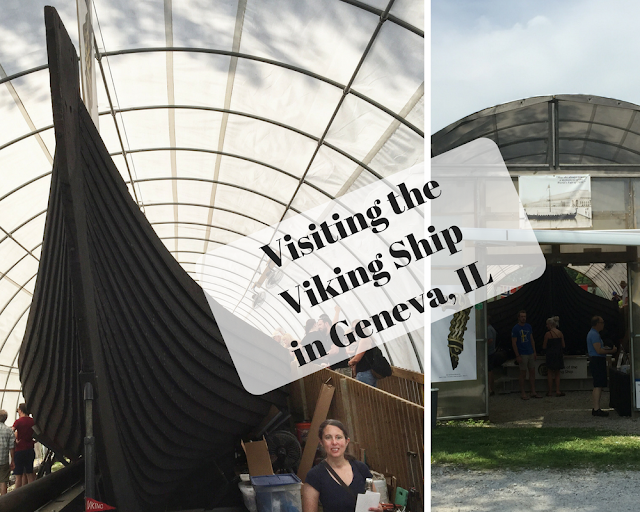 Visiting the Viking Ship in Geneva, IL
