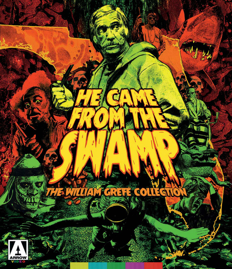 He Came From the Swamp: The William Grefé Collection bluray