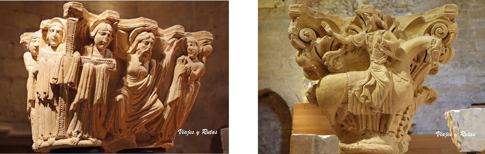 Capiteles del Monasterio de Santa María la Real, Aguilar de Campoo
