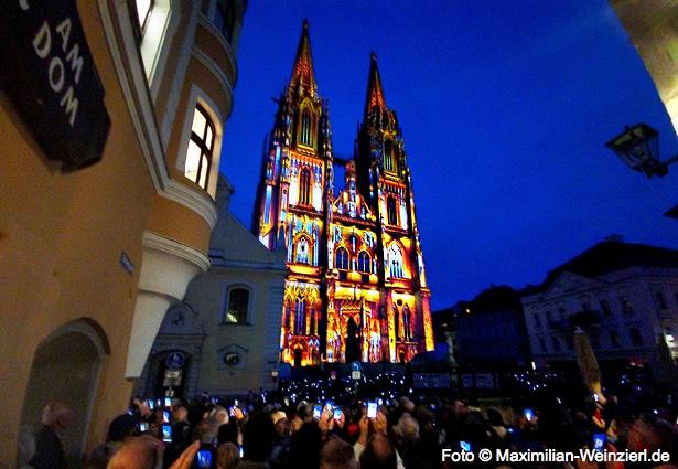 Regensburg Dom Illumination