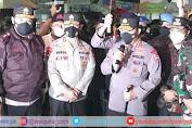 Kapolri Bersama Panglima TNI Tinjau Lansung Bom Bunuh Diri di Makassar