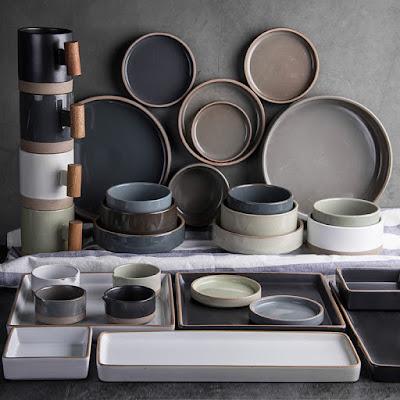 Set Piring Keramik