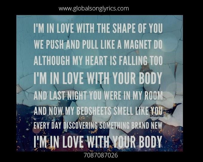 Shape of You Lyric - Ed Sheeran