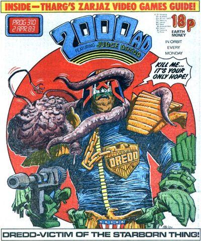 2000 AD prog 310, Judge Dredd