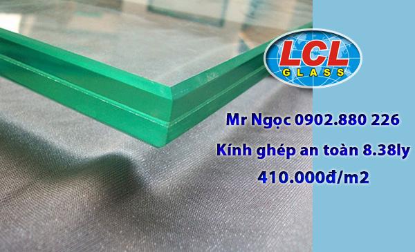 Kính ghép an toàn 8.38ly LCL Glass