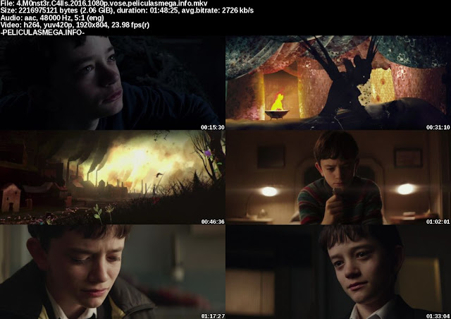 Descargar A Monster Calls Subtitulado por MEGA.