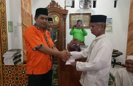 Tim Sara FKAN Pauh IX Kunjungi Mushalla Nurul Huda Kalawi