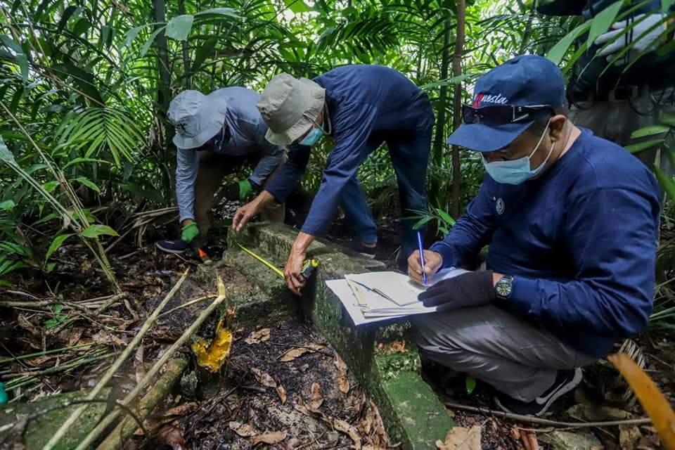 Disbudpar Kota Batam Telusuri Jejak Pertama Sejarah Belanda di Pulau Boyan Kecamatan Bulang Batam